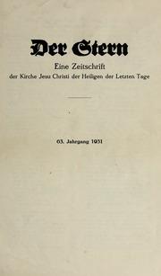 Vol 63 no. 01: Der Stern