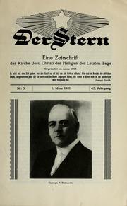 Vol 63 no. 05: Der Stern