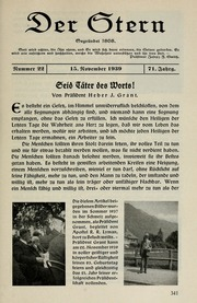 Vol 71 no. 22: Der Stern