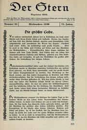 Vol 71 no. 24: Der Stern