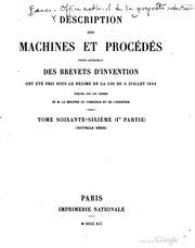 Description des machines et proc d s pour lesquels for Ministere exterieur france