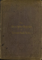 Picture of Descriptive Register of Genuine Bank Notes [Gwynne & Day]