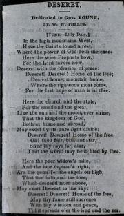 Deseret (Phelps) (1857)