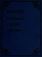 Deseret Sonntagsschul-Lieder (1912)