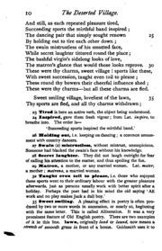 oliver goldsmith deserted village vs george c Dr oliver goldsmith the deserted village by oliver goldsmith (excerpt read by tom o'bedlam) goldsmith, oliver alternative names.