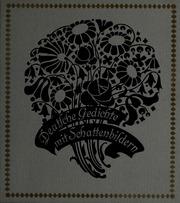 Deutsche Gedichte Mit Schattenbildern Fraungruber Hans