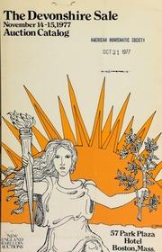 The Devonshire sale ... [11/14-15/1977]