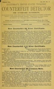 Dickerman's United States Treasury Counterfeit Detector
