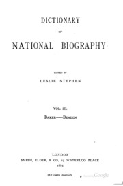 leslie stephen dictionary national biography