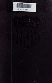 A dictionary of american politics comprising accounts of for Together dictionary