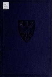 Vol 5: Die deutschen Dokumente zum Kriegsausbruch 1914
