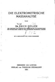 Die elektrometrische Massanalyse