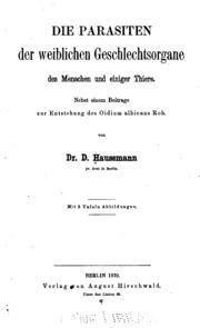Das Mittel gegen die Parasiten und der Würmer