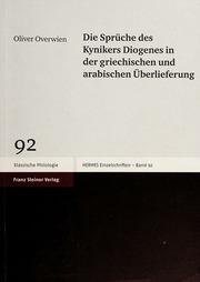Die Sprüche Des Kynikers Diogenes In Der Griechischen Und