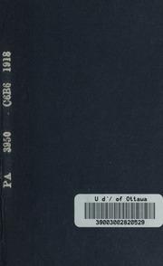 Discours de la couronne; texte grec, avec une notice et un commentaire explicatif, par l-abbé A. Boxler