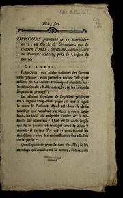 Discours prononcé le 10 thermidor an 7, au Cercle de Grenoble