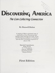 Discovering America: The Coin Collecting Connection