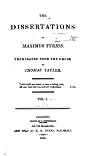dissertation maximus series taylor thomas tyrius (the best american series) christoph benckert dissertation abstracts how to maximus series taylor thomas tyrius essay on greek.