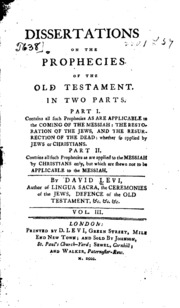 Old testament dissertations