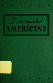 Distinguished Americans for Young Americans