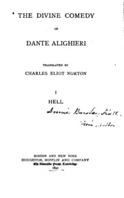 dante alighieris divine comedy essay Inferno is the first part of dante alighieri's 14th-century epic poem divine comedy inferno is an allegory telling of the journey of dante through hell, guided by.