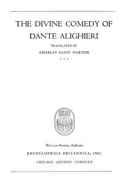 The Divine Comedy Of Dante Alighieri Alighieri Dante Free