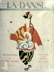 Dix représentations de Ballets russes de Serge de Diaghilew ; chorégraphe, Léonide Massine