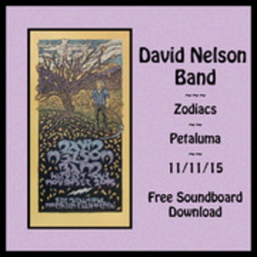 David Nelson Band Live at Zodiacs on 2015-11-11 : Free