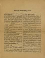 An Assortment of Documents from the US House of Representatives