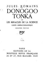 Donogoo Tonka; ou, Les miracles de la science, conte cinématographique ...