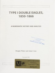 Type I Double Eagles, 1850-1866