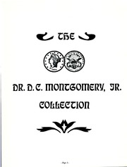 Dr. D.C. Montgomery, Jr. Collection