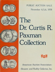 Dr. Curtis R. Paxman Collection (pg. 89)