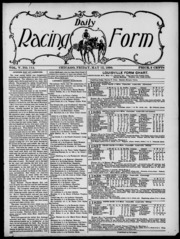 Daily Racing Form: N. Friday, May 12, 1899