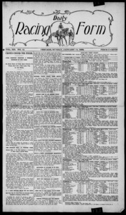 The Daily Racing Form Historical Archive : Free Texts : Free ...
