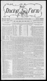 Daily Racing Form: N. Friday, August 6, 1915
