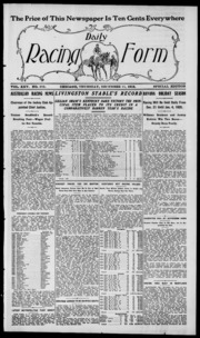 Daily Racing Form: N. Thursday, December 11, 1919