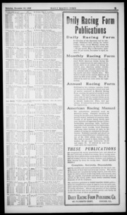 Daily Racing Form: N. Saturday, December 23, 1922