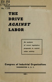 an analysis of california labor movements Twentieth-century california experienced two periods of extended farm labor  agitation: the  most significantly for this study, the analyses pay short shrift to  the.