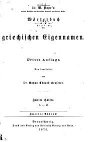 Pape & Benseler cover