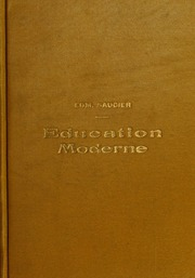 Éducation moderne et entrainement professionnel