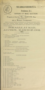 The duplicate coins : property of the late Wm. Barton ... [03/25/1902]