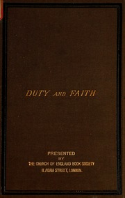 the justification of the good an essay on moral philosophy duty and faith an essay on the relation of moral philosophy to christian doctrine
