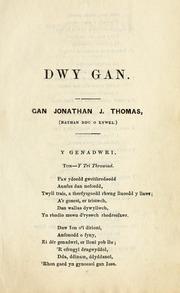 Dwy gan (1851)