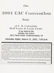 The 2001 EAC Convention Sale
