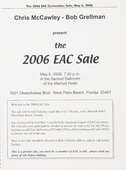 The 2006 EAC Convention Sale