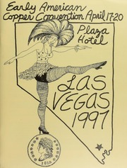 Early American Coppers Convention, Playa Hotel, April 17-20, 1997, Las Vegas