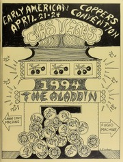 Early American Coppers Convention, The Aladdin, April 21-24, 1994, Las Vegas