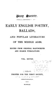 ballads in english literature