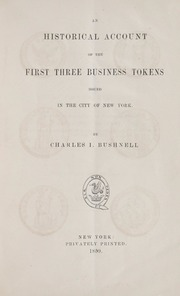 Early New York Tokens